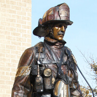Aberdeen Monument to Firefighters