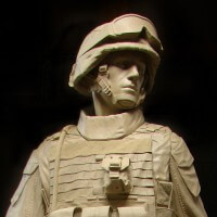 Monument to 1st Battalion 1st Marines
