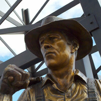 Taft Monument to Oilworkers