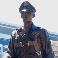 Monument to WWII Airmen