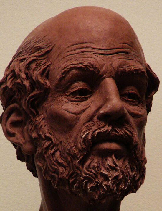 Aristotle (Terra Cotta)