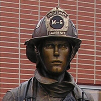 Lawrence Monument to Firefighters