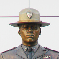 Monument to the Rhode Island State Police
