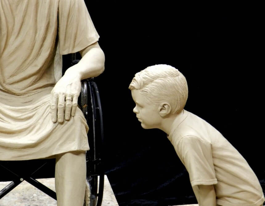 Patient and boy