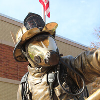 Salina Firefighter Tribute Plaza