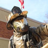 Salina Firefighter Tribute Plaza